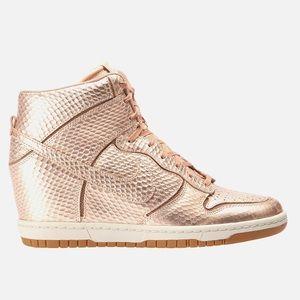 Nike Wedge High Top Womens Shoe Size 6